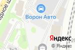 Схема проезда до компании Паркетисто в Москве