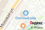 Схема проезда до компании Компания по доставке селфи-колец в Москве