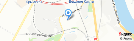 МЛГ на карте Москвы