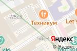 Схема проезда до компании Мэйс Интернешнл Лимитед в Москве