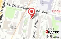 Схема проезда до компании Тревелинк-Инвест в Москве