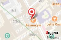 Схема проезда до компании Ноухауз в Москве