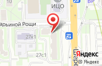 Схема проезда до компании Мильфлёр в Москве