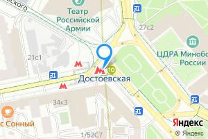 Комната в однокомнатной квартире в Москве м. Достоевская, метро Достоевская