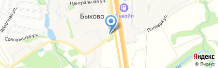Почтовое отделение №142143 на карте Стрелково