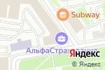 Схема проезда до компании Zarplata.ru в Москве
