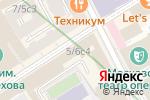 Схема проезда до компании Камергерка в Москве