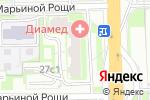 Схема проезда до компании Стоматолог и Я в Москве
