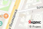 Схема проезда до компании Сберключ в Москве