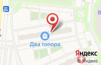 Схема проезда до компании Светлана Дорс в Боброво