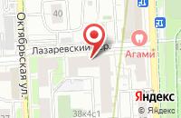 Схема проезда до компании Ск «Новый Век» в Москве