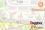 Схема проезда до компании Галерея современного декоративно-прикладного искусства в Москве