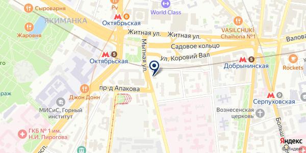 Mosautostrah на карте Москве