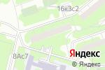 Схема проезда до компании Почтовое отделение №117545 в Москве