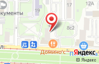 Схема проезда до компании Тритон Байкс в Москве