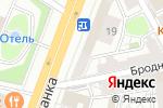 Схема проезда до компании Гармония моды в Москве