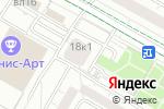 Схема проезда до компании Medusaonline в Москве