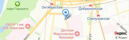 Ариадна-АйТи на карте Москвы