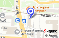 Схема проезда до компании ТФ МЕБЕЛЬНЫЕ ТЕХНОЛОГИИ СВС в Москве