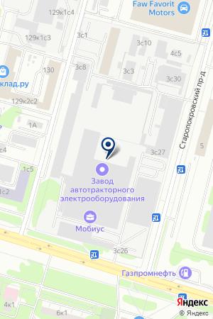МАГАЗИН ТКАНЕЙ ОЛАБИТЕКС на карте Подольска