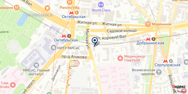 ПРЕДСТАВИТЕЛЬСТВО В МОСКВЕ ПТК THOMESTO OY на карте Москве