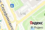Схема проезда до компании I Feel в Москве