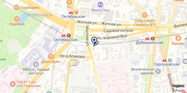 МОСКОВСКОЕ ПРЕДСТАВИТЕЛЬСТВО ПТФ FIRMENICH GMBH на карте Москве