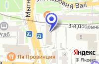 Схема проезда до компании МОСКОВСКОЕ ПРЕДСТАВИТЕЛЬСТВО ПТФ FIRMENICH GMBH в Москве