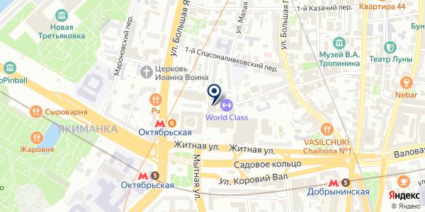 СУПЕРМАРКЕТ ВАРВАРКА на карте Москве