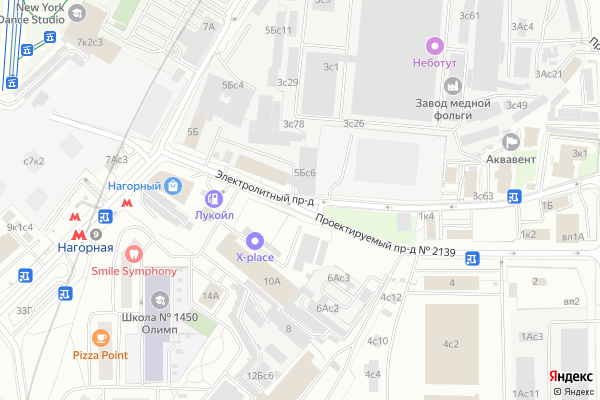 Ремонт телевизоров Электролитный проезд на яндекс карте