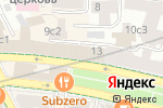 Схема проезда до компании Трейд Книга в Москве