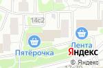 Схема проезда до компании Чайхана Беш Бармак в Москве