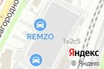 Схема проезда до компании КЛЕБЕН в Москве