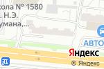 Схема проезда до компании VBamper в Москве