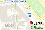 Схема проезда до компании ЮниФактор в Москве
