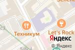 Схема проезда до компании Российская государственная библиотека искусств в Москве