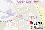 Схема проезда до компании FriendHouse в Москве