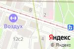 Схема проезда до компании Электросетьсервис ЕНЭС в Москве