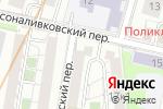 Схема проезда до компании Арт-Ателье в Москве
