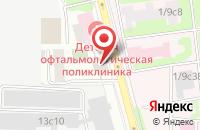 Схема проезда до компании ВостокМонтажСтрой в Москве