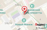 Схема проезда до компании Торговый Дом Сапфир в Москве