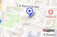 Схема проезда до компании ИНФОРМАЦИОННОЕ АГЕНТСТВО ТЕНФОР в Москве