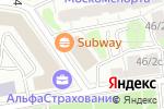 Схема проезда до компании BGMP в Москве