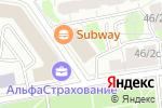 Схема проезда до компании TOBOX в Москве