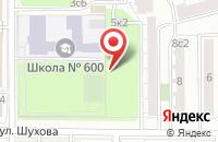 Схема проезда до компании Простор Л в Москве
