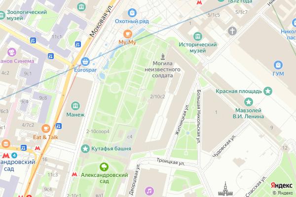 Ремонт телевизоров Центральный административный округ на яндекс карте