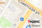 Схема проезда до компании Ортопедия в Туле