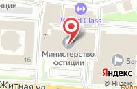 Схема проезда до компании Квартет А в Москве