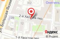 Схема проезда до компании Актуаль в Москве
