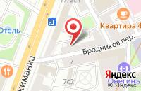 Схема проезда до компании Альянс Плюс в Москве